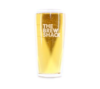 The Brew Shack Pint Glass